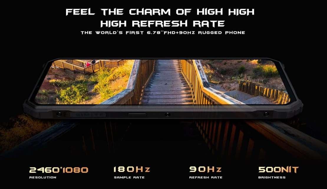 Ekran FHD+ 90 Hz w smartfonie iiiF150 R2022