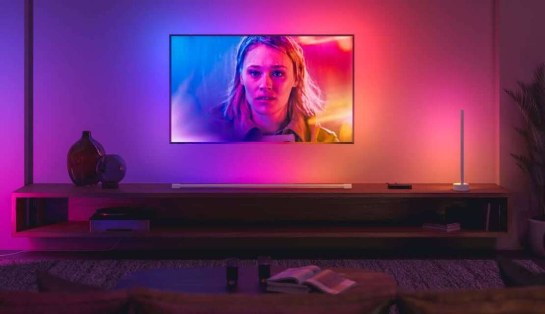 Tuba Philips Hue LED Play gradient