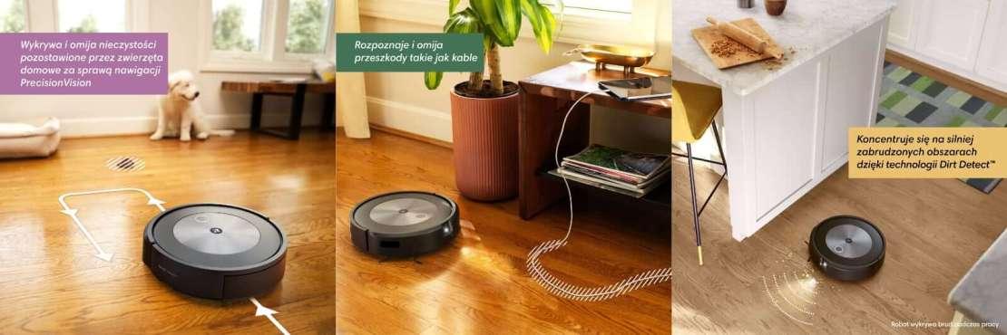 iRobot Roomba j7/j7+ PrecisionVision i Dirt Detect