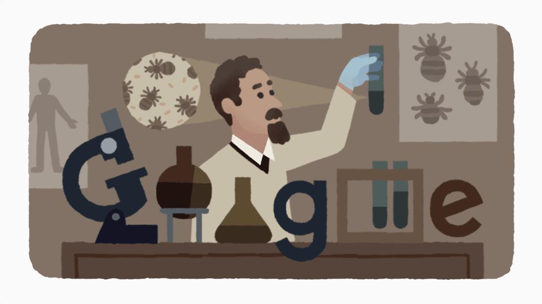 138 urodziny Rudolfa Weigla w Google Doodle