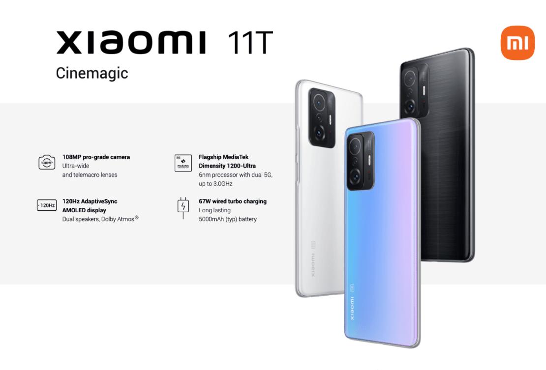 Xiaomi 11T Cinemagic
