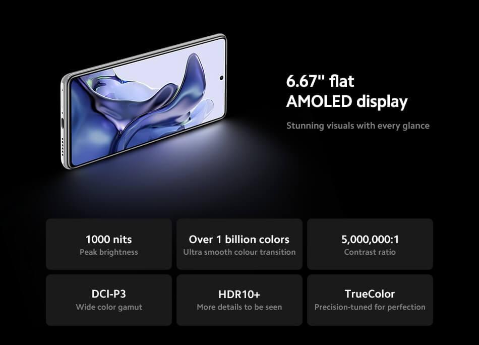 Wyświetlacz Xiaomi 11T (AMOLED)