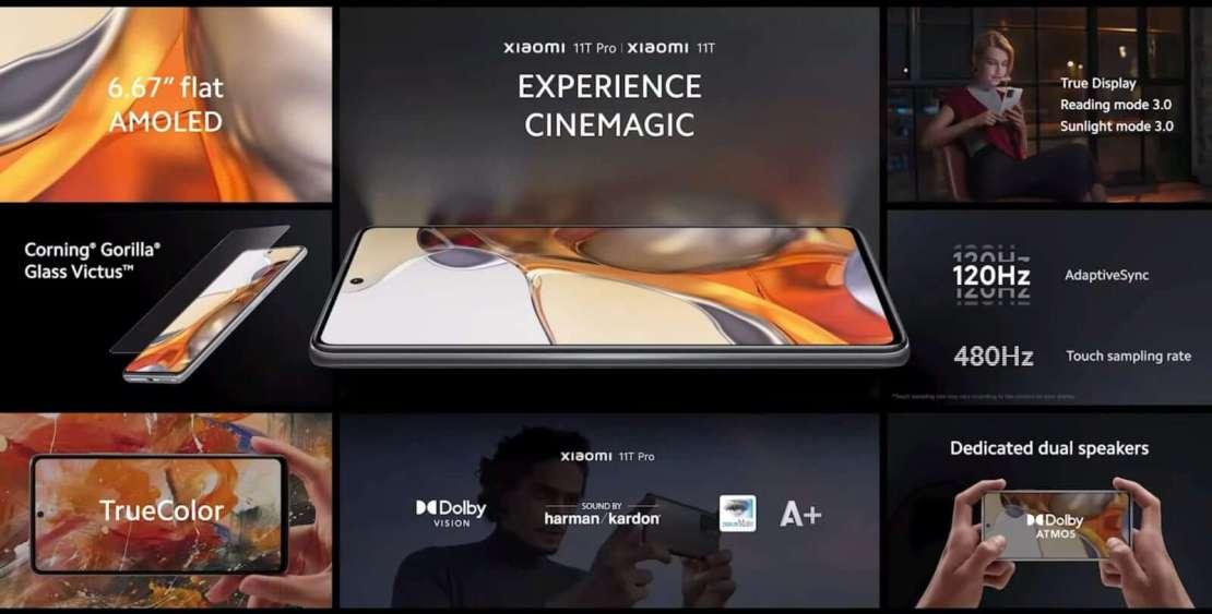 Xiaomi 11T Pro oraz Xiaomi 11T