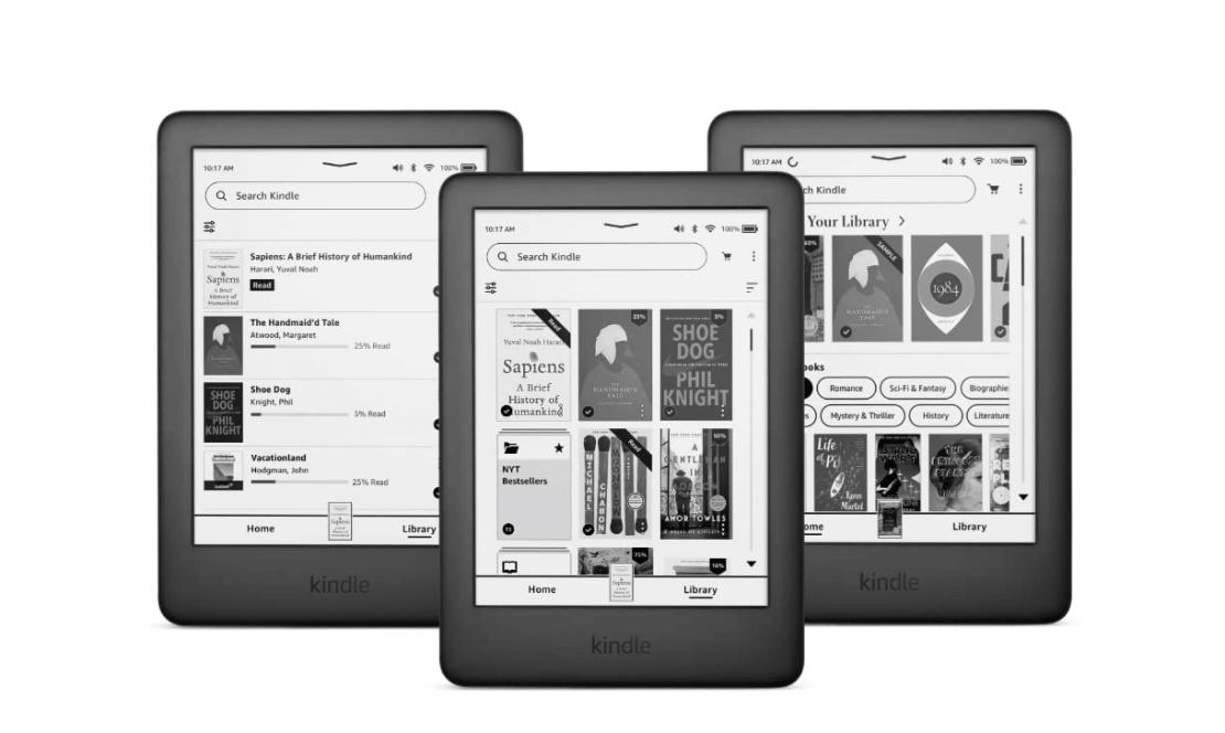 Zapowiedź dużej aktualizacji oprogramowania dla czytników Kindle firmy Amazon (w nadchodzących tygodniach 3Q 2021)