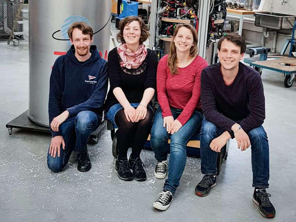 Zespół naukowców biorących udział w projekcie QUANTUS 2
