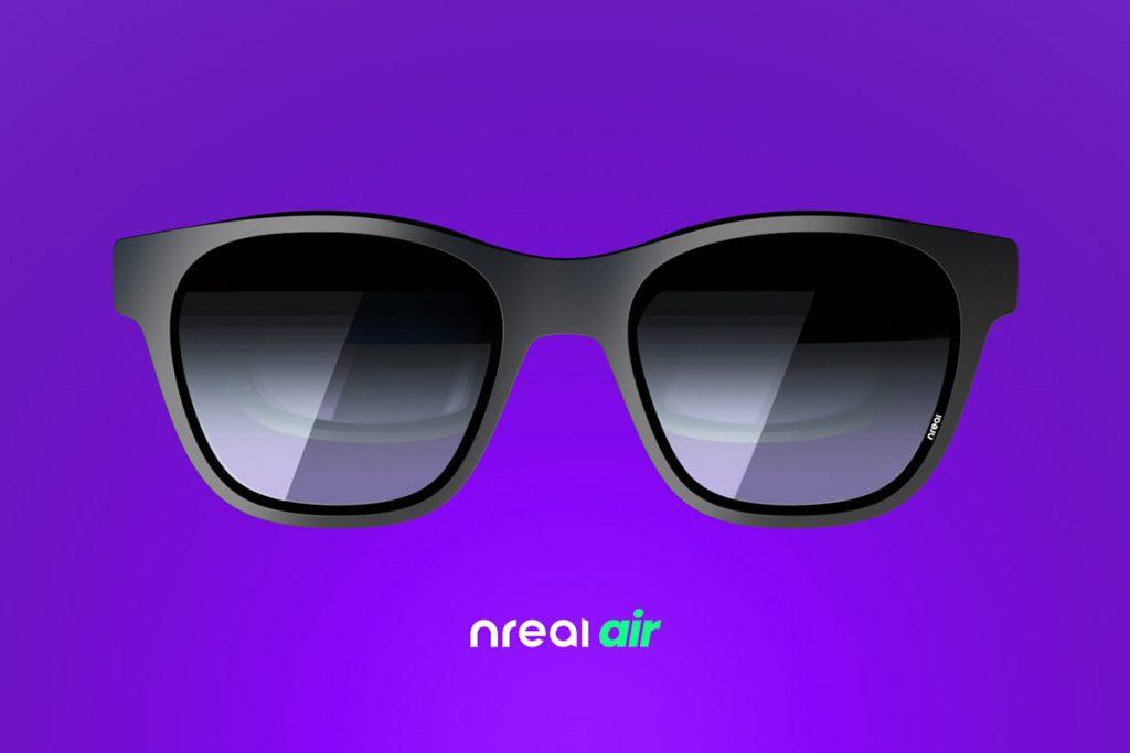 Okulary AR – Nreal Air (przód)
