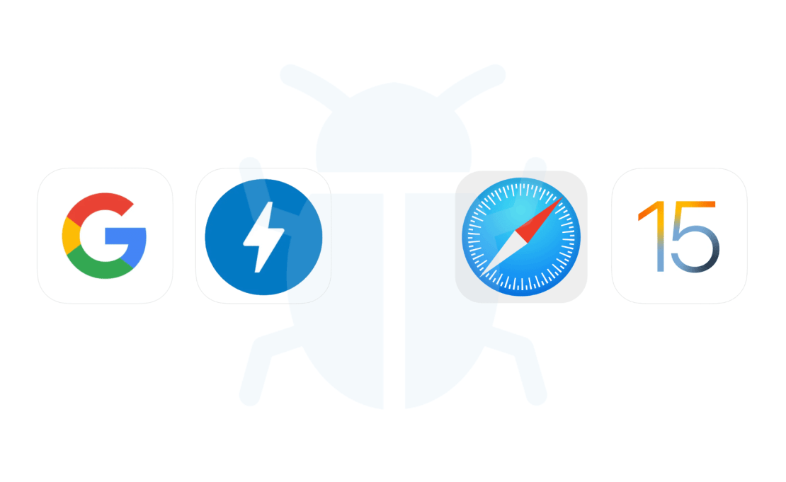 Błąd wyświetlania stron AMP w Safari pod systemem iOS 15