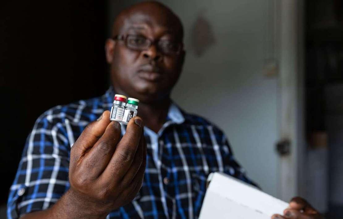 Szczepionka Mosquirix przeciw malarii