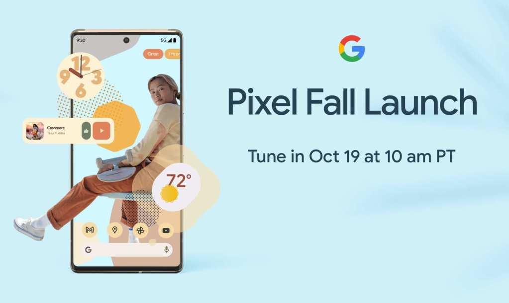Google Pixel Fall Launch 2021 (19 października 2021 r. o godz. 19.00 czasu polskiego)