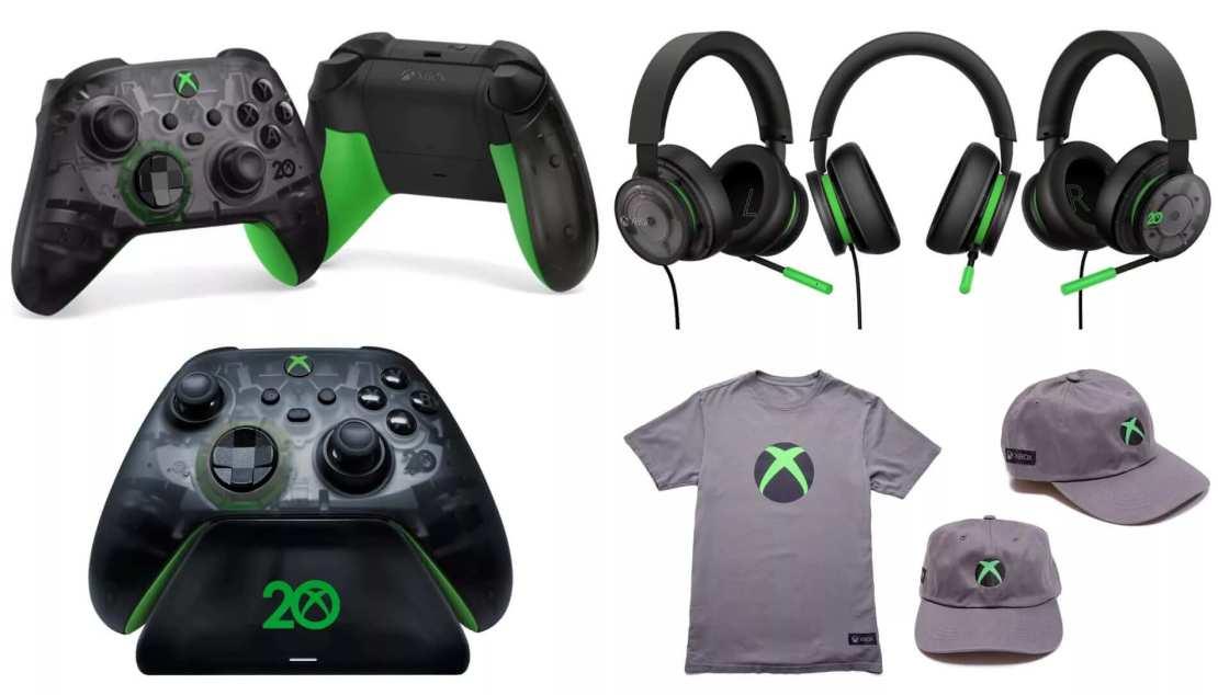 Gadżety Xbox z okazji 20-lecia