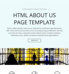 bootstrap about us page template [ 1200 x 1200 Pixel ]