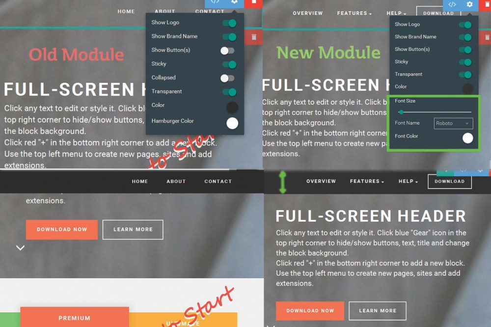 medium resolution of more customizable and flexible