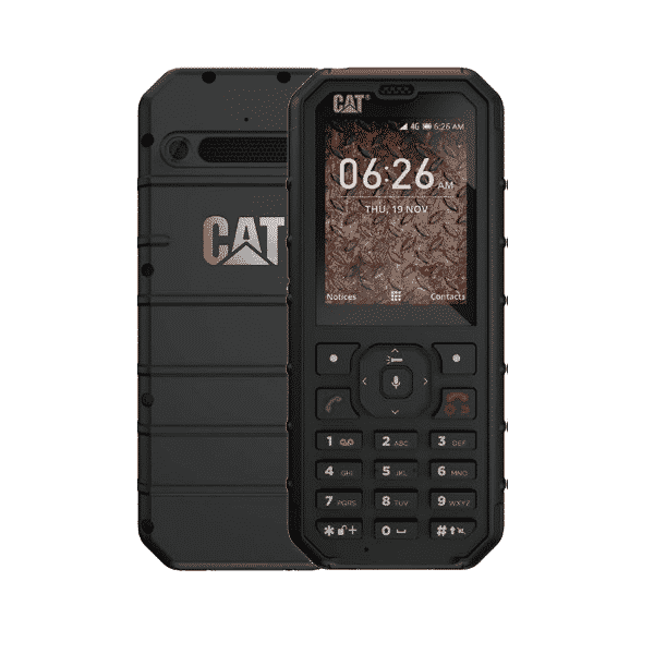 Caterpillar B35 Dual Sim Black