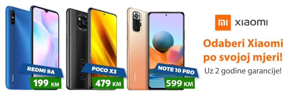Xiaomi Akcija mobitela