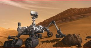 Curiosity on the surface of Mars (.NASA)