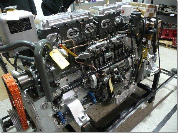 Gardner 6LXB restored GMD1