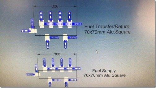 Fuel Tank manifolds
