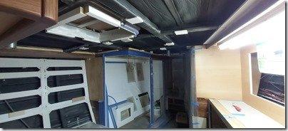 Master ceiling prep