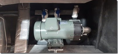 Watermaker LP pump