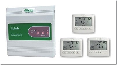 Azel i-Link In Floor Heating control system sp83packageD508F