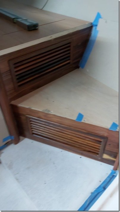 Master Cabin rosewood vent grills