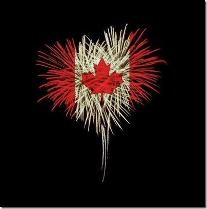 Canadian Flag Canada Day fireworks photo Instagram photo by Victoria Allman • Jul 1, 2020