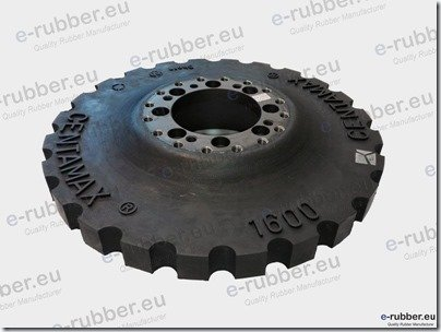 CentaMax 1600 rubber insert