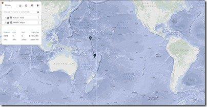 Screenshot Vuda Pt to Majuro distance