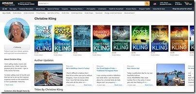 CK Author Page on Amazon