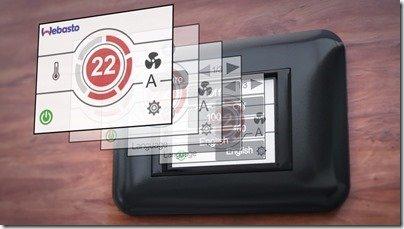 Webasto MyTouch control panel