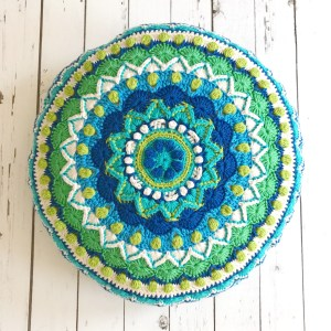 Radiant Flower Crochet Coaster Pattern