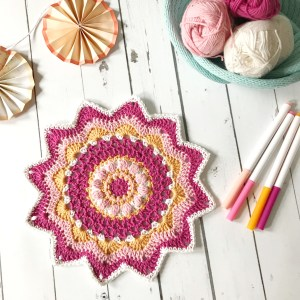 free crochet mandala pattern