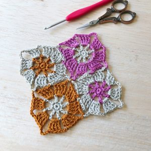 crochet shawl motifs
