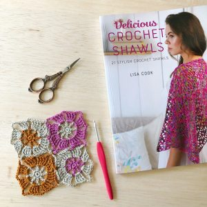 crochet shawl book