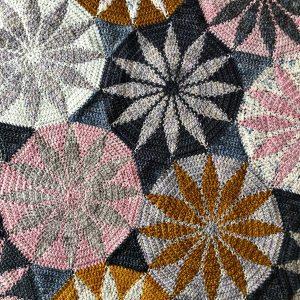 wrong side of crochet blanket