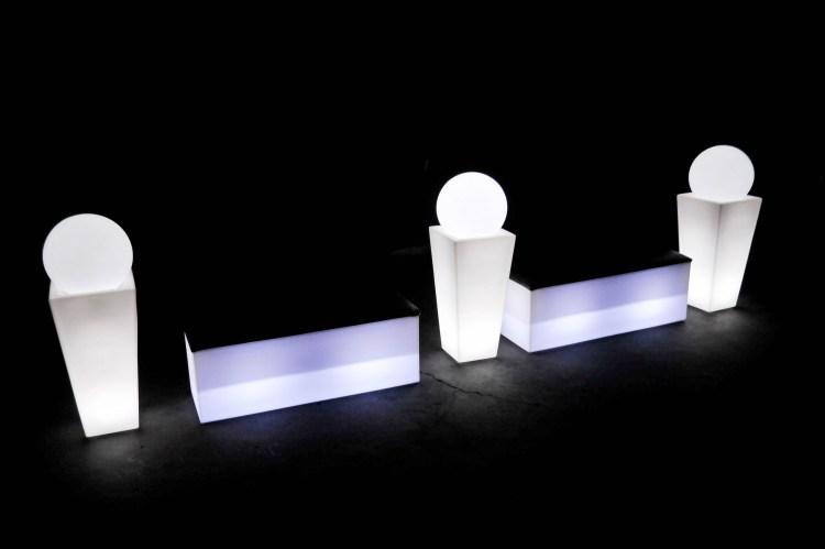 mobiliário diferenciado para eventos, transforma e decora o espaço