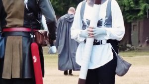 All my friends are going LARPing this weekend and I'm a little jealous. Throwback to the time when I was an adorable raccoon -kin