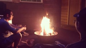 Fallout Squad campfire night. Soon... s'mores