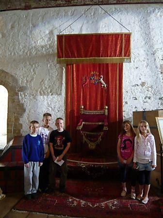 King Henry VIIIs bedroom at mrsat schools moblog