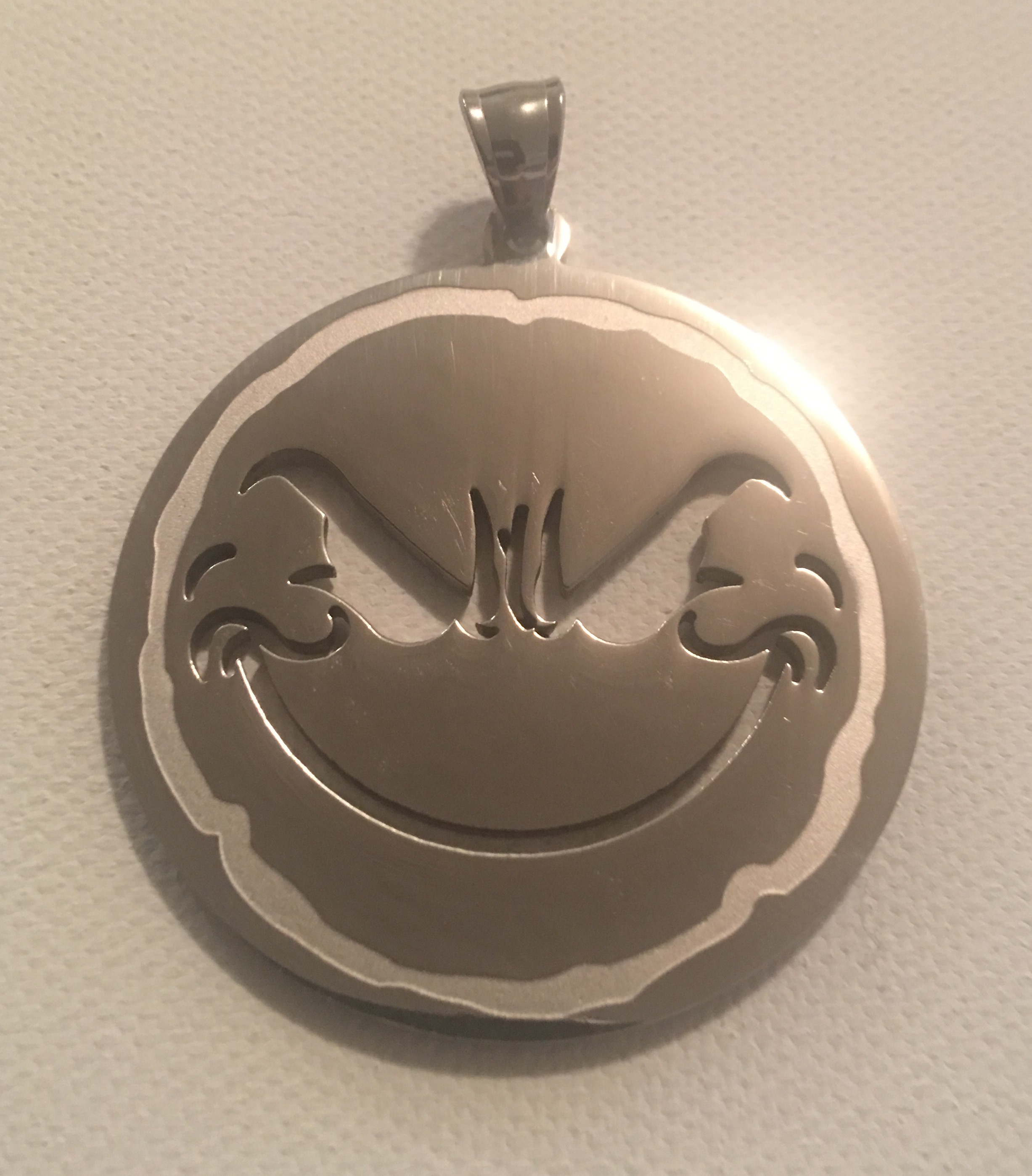 Weirdo 2″ Stainless Steel Charm