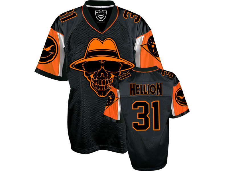 "Mobstyle ""Hellion"" Football Jersey"