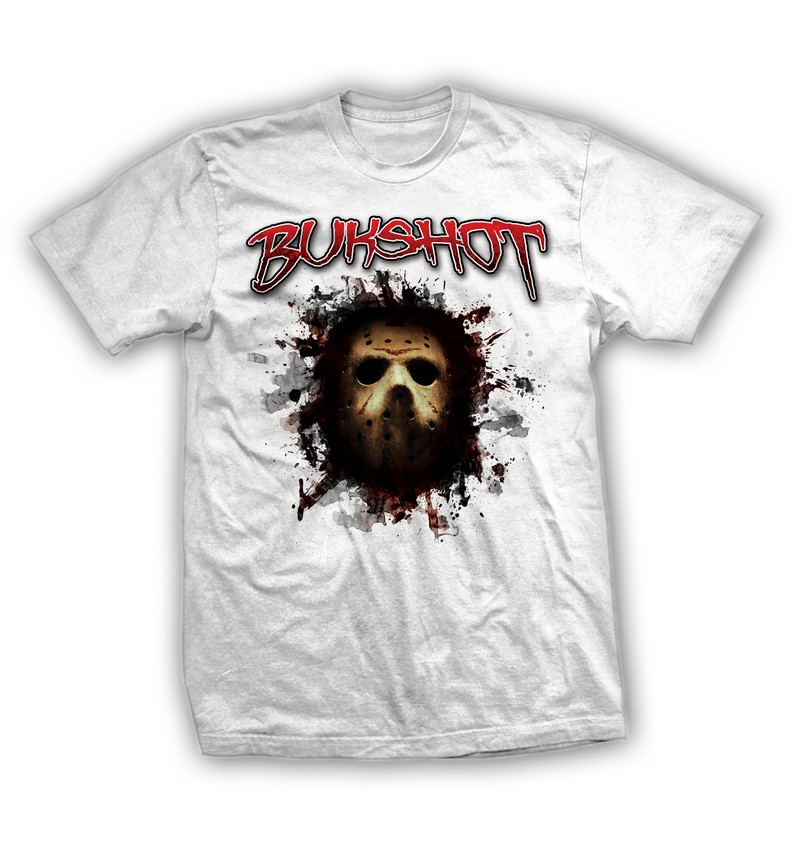 "Bukshot ""Jason Mask"" T-shirt"