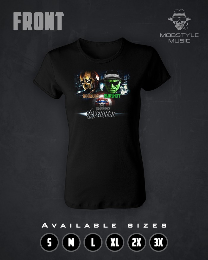 Underground Avengers Ladies T-Shirt