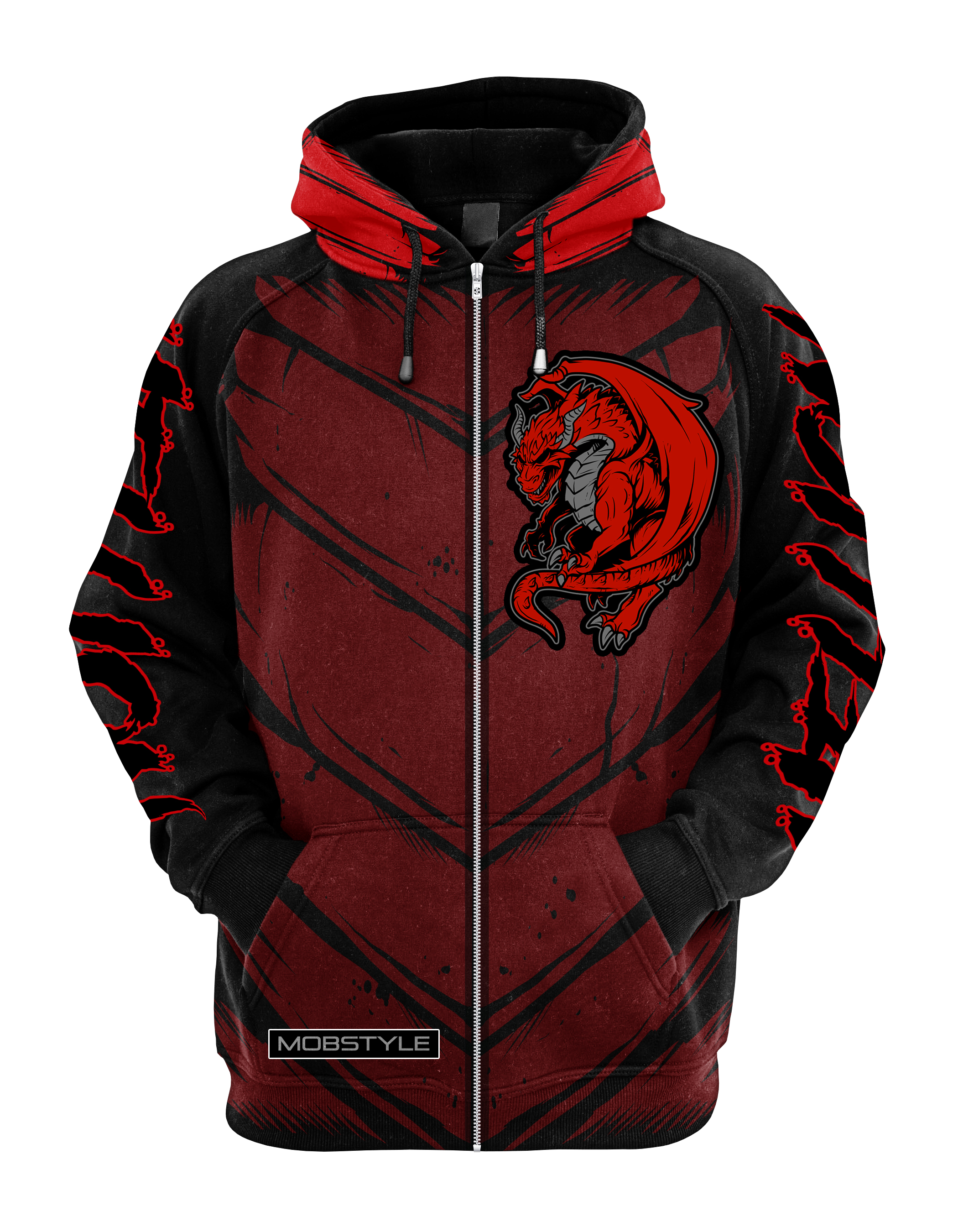 Hellion Sublimated Zip Up Hoodie