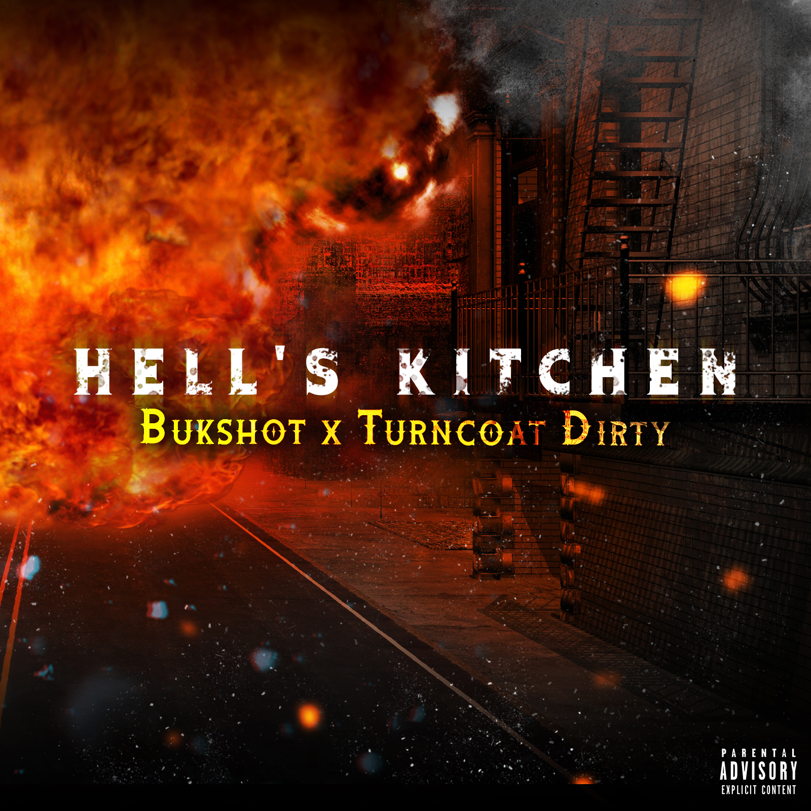 "Bukshot & Turncoat Dirty ""Hell's Kitchen"" CD"