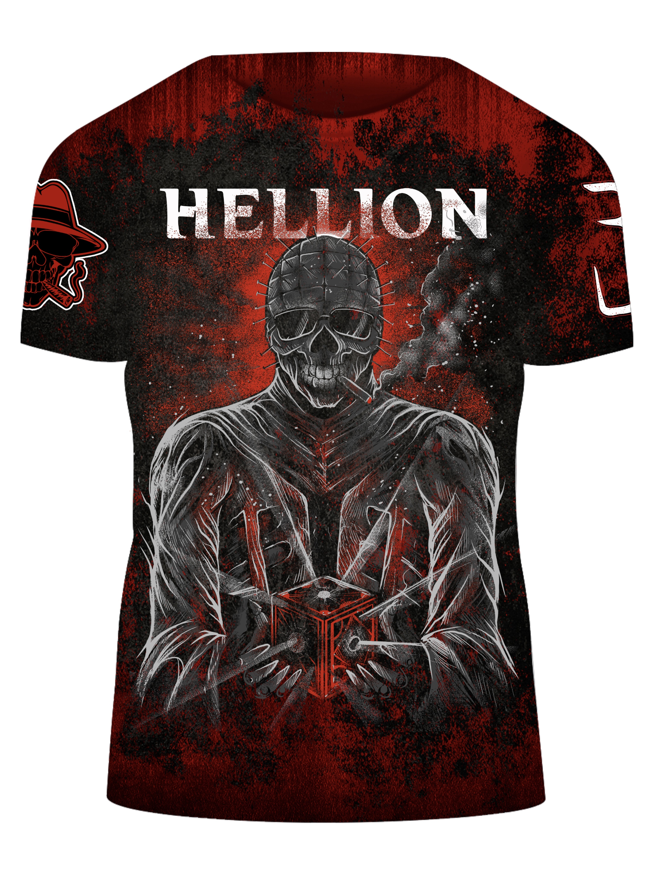 "Hellion ""Mob-Head"" T-shirt"