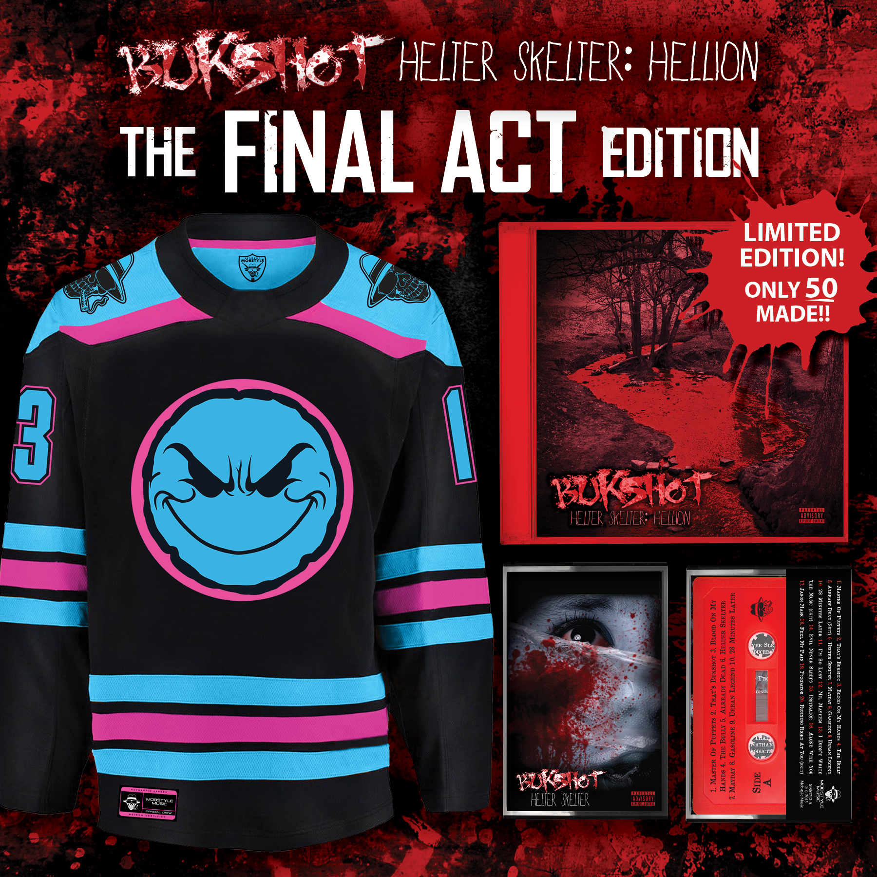 "Bukshot ""Helter Skelter: Hellion"" The Final Act Edition (LIMITED TO 50) (pre-order)"