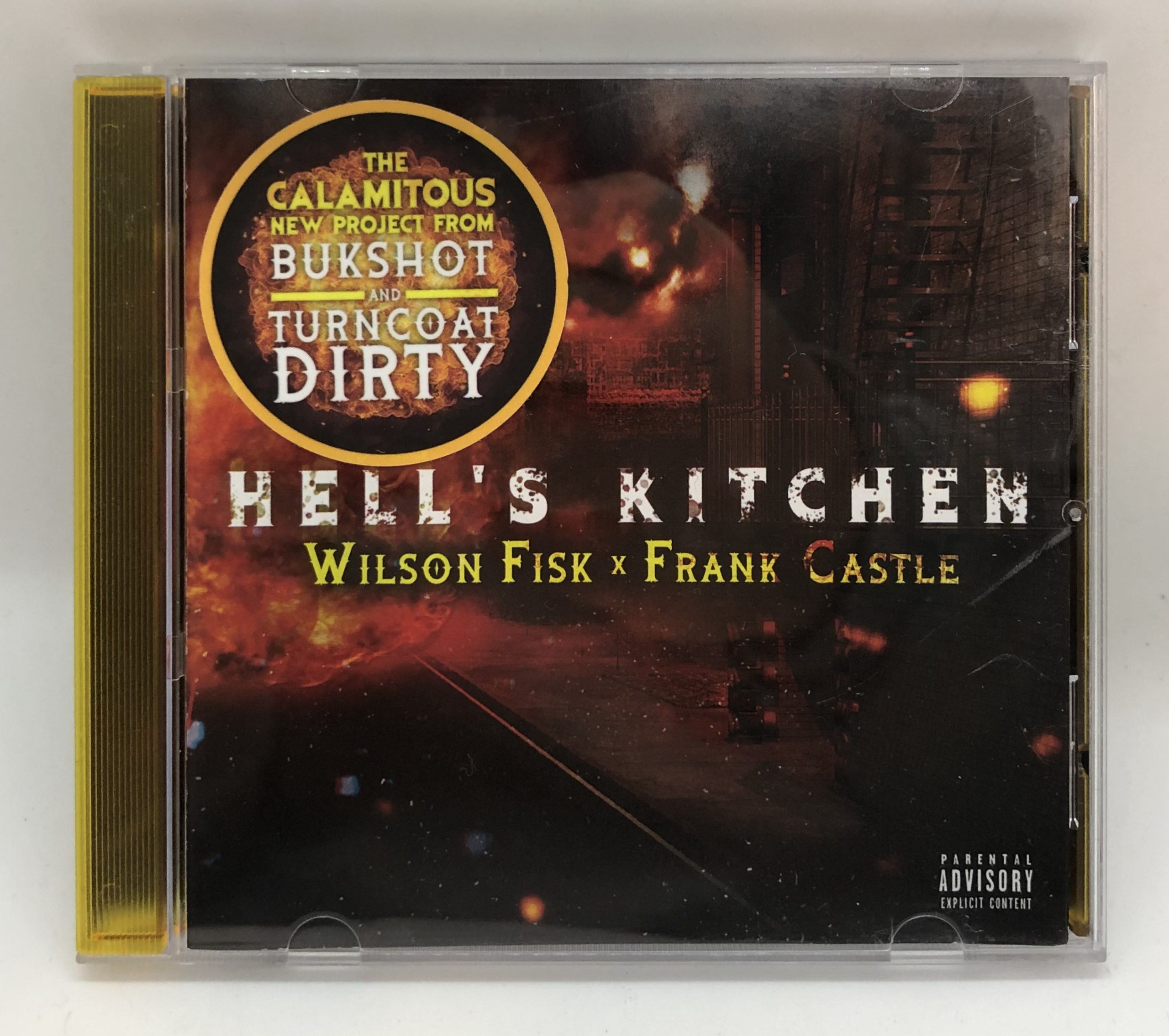"Bukshot & Turncoat Dirty ""Hell's Kitchen"" LIMITED DELUXE VERSION CD"
