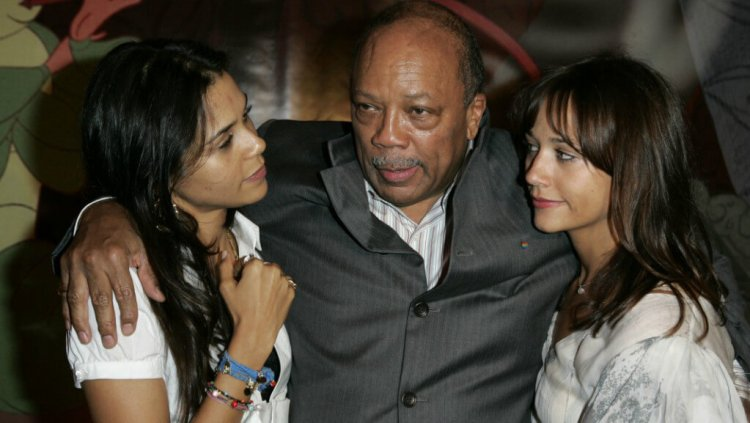 Kidada Jones Quincy Jones Rashida Jones