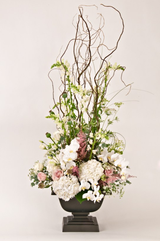 Ceremony Arrangement by Mobtown Florals